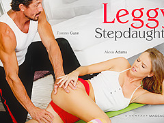 Alexis Adams in Leggy Stepdaughter, Scene #01 - FantasyMassage