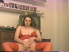 Debra Blough Red Lace   Pussy Play
