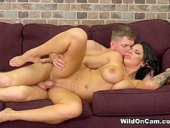 Lylith LaVey & Marcus Dupree in Busty and Ready for Sex - WildOnCam