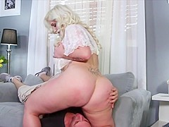 Big titted hot blonde plumper getting fucked wild