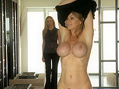 Dyanna Lauren & Hayden Night & Lux Kassidy & Julia Ann in To Protect and to Serve #01, Scene #04
