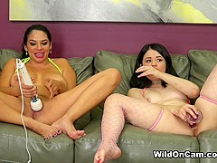 Missy Martinez & Yhivi in Missy Loves Yhivi Fucking Her Ass - WildOnCam