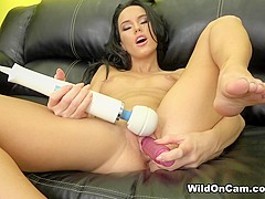 Megan Rain in Fucking The Sybian - WildOnCam