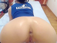 Anal Masturbation Makes Her Prolapse