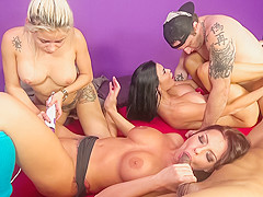Britney Amber & Marsha May & Jasmine Jae & Mark Zane & Dsnoop in Wild Wild Fuck Fest - Part 1 Video
