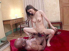Yuria Ashina in Yuria VS The Black Mamba - JapansTiniest