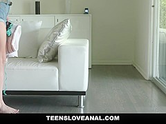 ExxtraSmall - Horny Blonde Teen Caught Spying