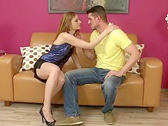Hot milf and her younger lover 325