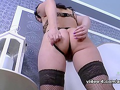 Corazon Del Angel in Masturbation Movie - AtkHairy