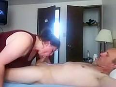 Amateur couple in the webcam