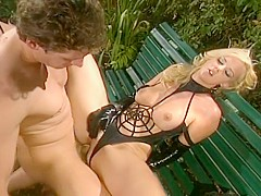 Hannah Harper Is Fucked Hard In The Garden