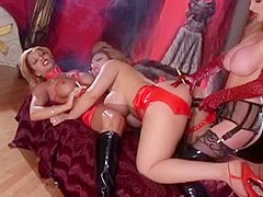 Crazy pornstars Mercedes Ashley and Taylor Wane in incredible fetish, threesomes adult clip