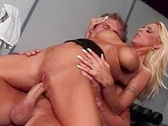 Horny pornstar Holly Halston in incredible blonde sex scene