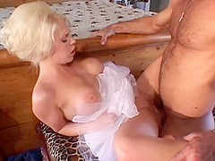 Crazy pornstar Jamie Brooks in exotic big tits, blonde adult clip