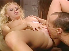 Blonde Babe Brittney Skye Gets A Piece Of Ben English