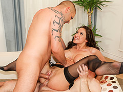 Martina Gold & John Strong & Thomas Stone in Assfucked MILFs #08 Scene