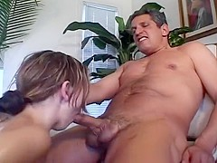 Cute Teen Christie Lee Gets Face Fucked by Herschel Savage's Big Cock
