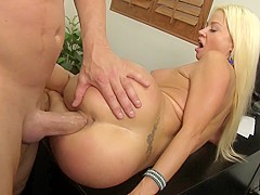 Nikita Von James & Billy Glide in Showing Off Her Office Skills Will Always Work - MyMilfBoss