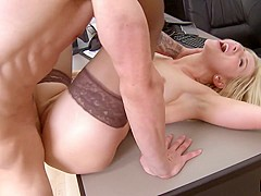 Ashley Fires & Joey Brass & Jimmy Lifestyles in Ashley Fires Gets Her Pussy Fucked By Joey Brass' Bi