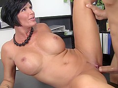 Shay Fox & Bruce Venture in Sexy Horny Mature Boss Lady Gets Banged Out - MyMilfBoss