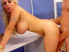 Holly Halston & Levi Cash in Holly Can Suck And Fuck Her Way To The Top - MyMilfBoss