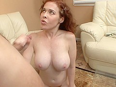 Mae Victoria & Dino Bravo in Girl Pleasures Herself And Man Jumps In The Fun. - WankMyWood