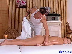 Natalie & Thomas J in Radek On Natalee - MassageRooms