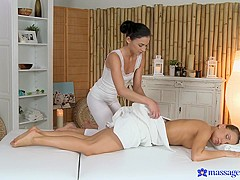 Keira & Whitney in Keira On Nessy - MassageRooms