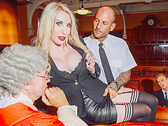 Marc Rose, Mike Angelo, Valerie Fox in Take Her Down - DigitalPlayground