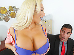 Olivia Fox & Bruce Venture in The Deal Breaker - Brazzers