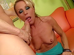 Super Hot Blonde Milf Gets Fucked Good And Hard