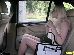 Lucy in Secretary Fucks for Job Interview - FakeTaxi