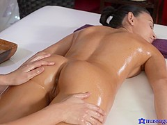 Keira & Paula in Paula On Keira - MassageRooms