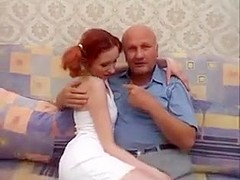 Old man and junior girl - 63