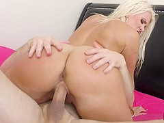 Layla Price & John Strong in Layla Price Gets Her Beautiful Butt Cum-Glazed - RoundJuicyButts