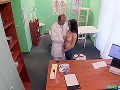 Nicole in Innocent Girl with Great Tits - FakeHospital