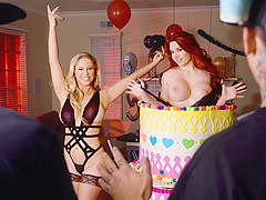 Cherie Deville, Mick Blue, Veronica Vain in Stag And Shag - DigitalPlayground