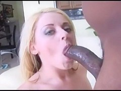 junior curvy blonde slut fucks and sucks huge bbc