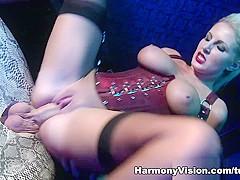 Georgie Lyall in Pussy Slamming Dominatrix - HarmonyVision