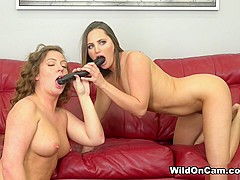 Hope Howell & Maddy O'Reilly in Hope And Maddy Loving Some Pussy - WildOnCam