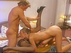Amazing pornstar Nikita Gross in incredible threesomes, cunnilingus porn scene