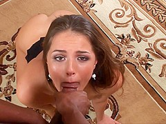 Tee Reel in Pretty Tori Black Gets An Interracial Mouth Full - Wankz