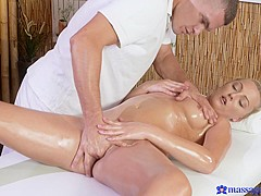 Katy Rose & Max Dyor in Max On Katy - MassageRooms