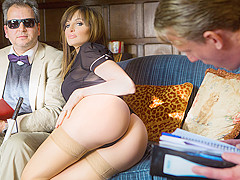 Ava Courcelles, Luke Hardy in The Blind Professor - DigitalPlayground