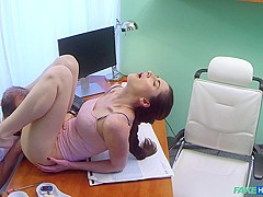 Aruna in Russian babe wants Doctors cum - FakeHospital