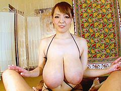 Hitomi Tanaka in Hitomi Titty Fucks Him Like Never Before - MilfsInJapan