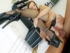 Crazy pornstar Tarra White in best facial, hd sex scene