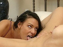 Zoey Holloway & Vanilla DeVille in Please Make Me Lesbian #03, Scene #01