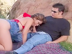 Hot Asian Goes Hiking And Gets Fucked