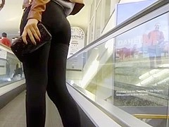 Candid - Teen Ass In Tight Leggings